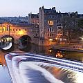 Pulteney Bridge And Weir Bath by Colin and Linda McKie