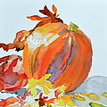 Pumpkin And Pomegranate by Beverley Harper Tinsley