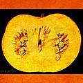 Pumpkin Half by Chris Berry