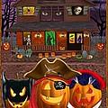 Pumpkin Masquerade by Glenn Holbrook