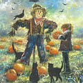 Pumpkin Patch Girl by Vickie Wade