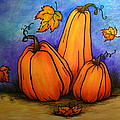 Pumpkin Trio by Catherine Howley