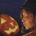 Pumpkin Witch by Michael Beckett