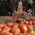 Pumpkins For Sale by Elvis Vaughn