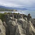 Punakaiki Pancake Rocks by Stuart Litoff