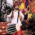 Punjabi Dhol by Bliss Of Art
