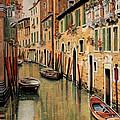 Punte Rosse A Venezia by Guido Borelli