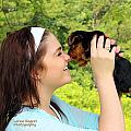 Puppy Kiss by Lorna R Mills DBA  Lorna Rogers Photography