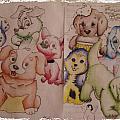 Pups  by Edward Cormier Jr