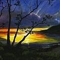 Purdy Sunset by Carlene Salazar
