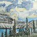 Pure North - Bow Lake Alberta by R Kyllo