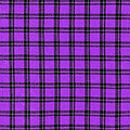 Purple And Black Plaid Textile Background by Keith Webber Jr