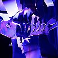 Purple Blue Fish...   # by Rob Luzier