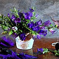 Purple Blues by Diana Angstadt