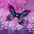 Purple Butterfly by Hailey E Herrera