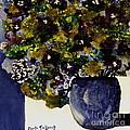 Purple Chrysanthemum by Marta Tollerup