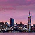 Purple City by Mihai Andritoiu