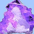 Purple Crystal Quartz by Bruce Nutting