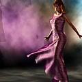 Purple Dancer by Kaylee Mason