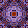 Purple Design 2 by Lilia D