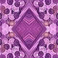 Purple Dreams Diamond Pebbles by Barbara St Jean