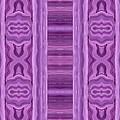 Purple Dreams Pattern Parallel by Barbara St Jean