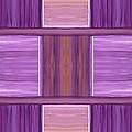 Purple Dreams Squares by Barbara St Jean