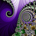 Purple Feathers by Mary Machare