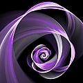 Purple Flirt by Gabiw Art