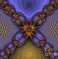 Purple  Flower Fractal by Darleen Stry