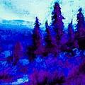 Purple Forest  by IAMJNICOLE JanuaryLifeBrand