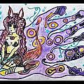 Purple Girl by Katey B
