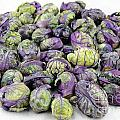 Purple Green Brussels Sprouts by Lee Serenethos