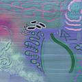 Purple Haze Between The Clouds by Lazaros