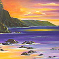 Purple Haze In Hawaii by Dina Holland