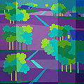 Purple Hill Farms by Michael Jernegan
