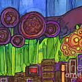 Purple Hills by Vicki Baun Barry