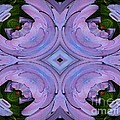 Purple Hydrangea Flower Abstract 2 by Rose Santuci-Sofranko