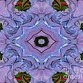 Purple Hydrangea Flower Abstract by Rose Santuci-Sofranko