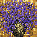 Purple In The Warm Glow by Susanna Shaposhnikova
