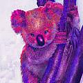 Purple Koala by Jane Schnetlage