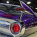 Purple Kustom Kadillac by Steve Natale
