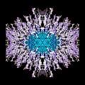 Purple Lace by Jeanne LeMieux