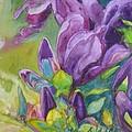 Purple Magnolia by Tamara Scantland Adams