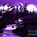 Purple Mountain by Barbara Griffin