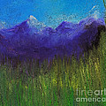Purple Mountains By Jrr by First Star Art