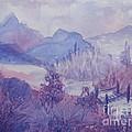 Purple Mountains Fantasy by Ellen Levinson