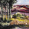 Purple Mountains by Gail Epstein
