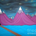 Purple Mountains by Robert Nickologianis