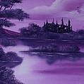 Purple Palace For Sale by Cynthia Adams
